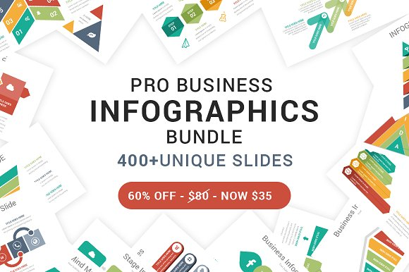 60% OFF-Complete Infographics Bundle