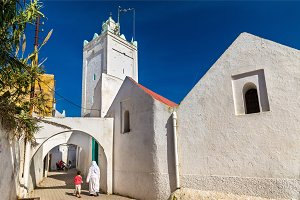 Mosque in Azemmour town, Morocco