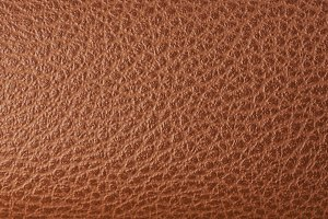 Flat brown leather texture