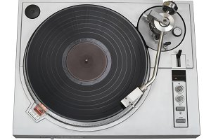 Classic turntable cutout