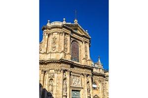 Notre Dame Church in Bordeaux, France