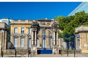 Hotel de Poissac, a historic buildings in Bordeaux, France