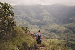 Hiking South Africa (portrait view)
