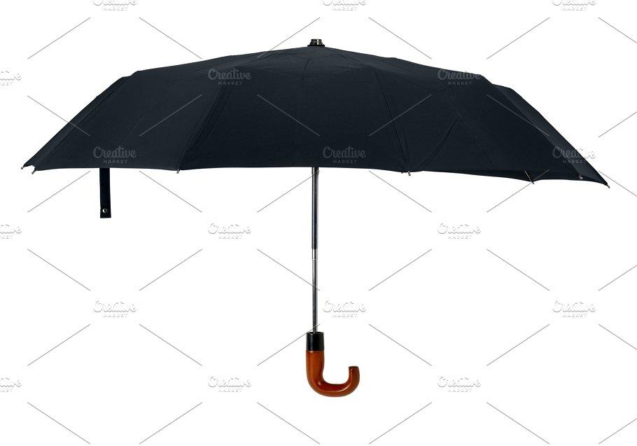 Black Umbrella Cutout Beauty Fashion Photos Creative Market