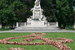 Monument to Wolfgang Amadeus Mozart