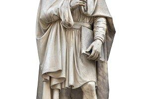 David statue cutout
