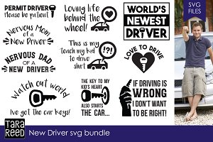 New Driver SVG Bundle