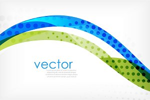 Business corporate abstract backgrounds, wave brochure or flyer design templates