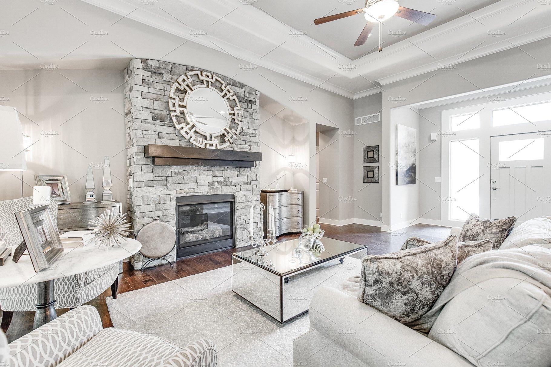 Bright Living Room Decor