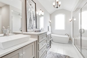 Beautiful Bright Dream Bathroom