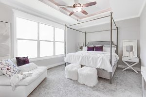Modern Bright Bedroom