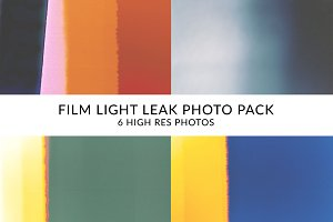 Film Light Leaks Photo Pack!