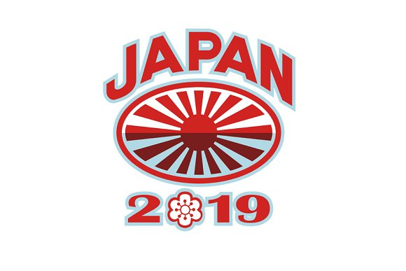 Japan 2019 Rugby Ball Retro