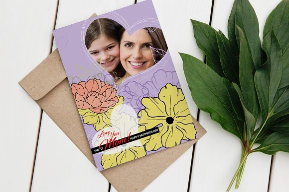 Happy Mother's Day Card V02
