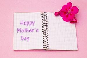 Mother's day congratulation written