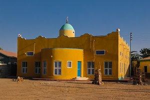 Mosque in Berbera, biggest port city of Somaliland, Somalia