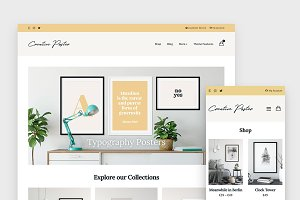 Creative Poster - WooCommerce Theme
