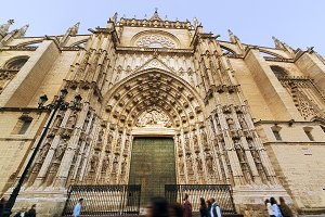 Seville  Cathedral , Spain