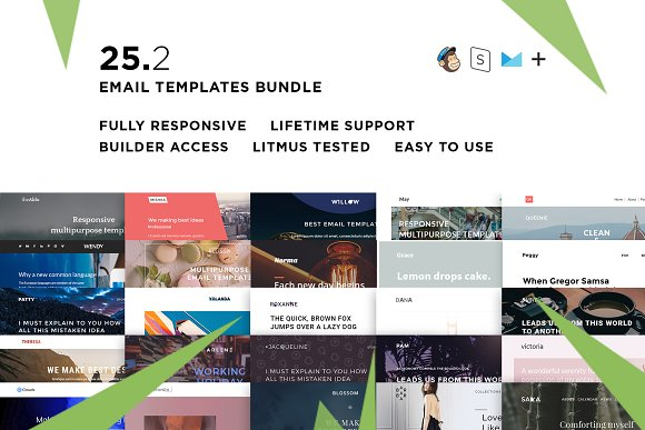 25 Email Templates Bundle II