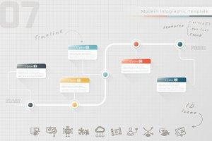 Modern Infographic Timeline (7)