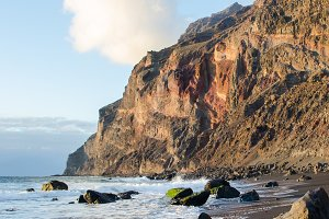 Playa del ingles beach, La Gomera