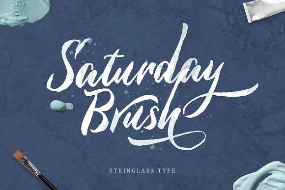 Saturday Brush Script