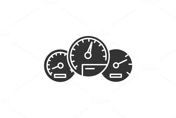 Dashboard Glyph Icon