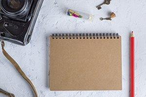 open blank notepad