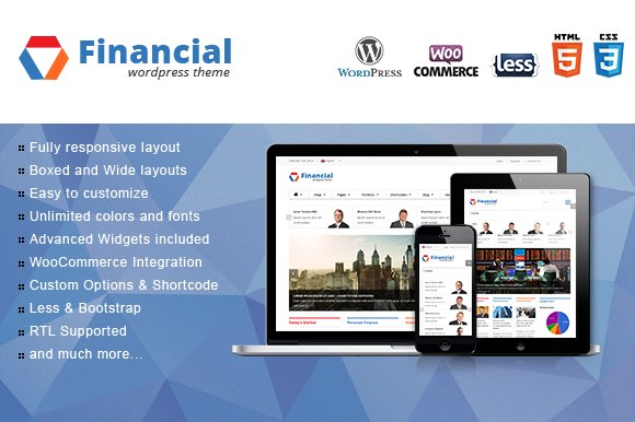 SW Financial - Responsive WordPress