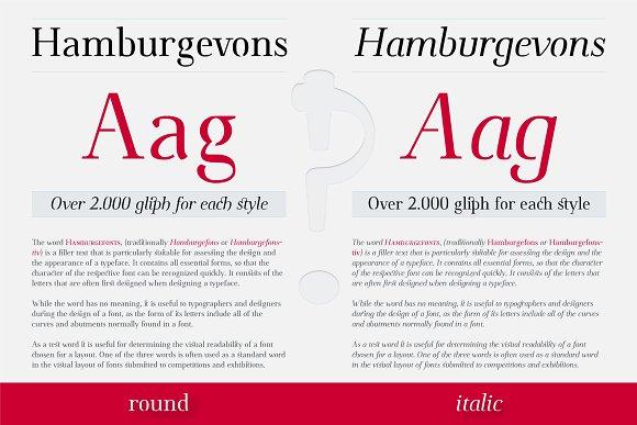Omologo Serif Semi Stencil Font