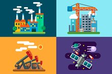 Industry landscapes