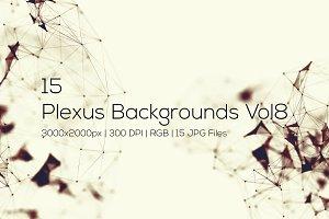 Plexus Backgrounds Vol8
