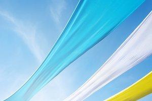 fabric across the skys