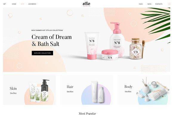 Ellie PRO Minimal WordPress Theme