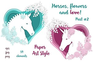 Horses, flowers & love (part #2)