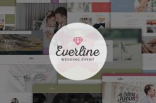 Everline - Wedding Joomla Template by  in Joomla
