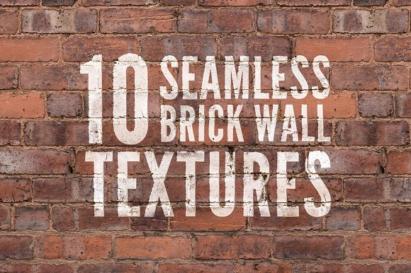Hi Res Seamless Brick Wall Textures