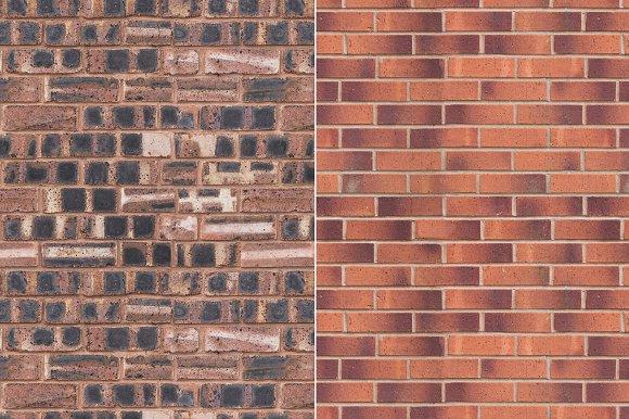 Hi Res Seamless Brick Wall Textures Creative Market