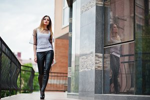Fashionable woman look