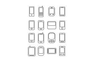 Phone line icon