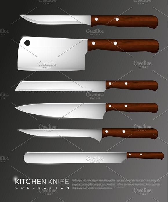 Realistic Knives Collection