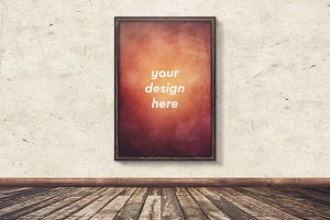 Poster in Frame Mock-up 10