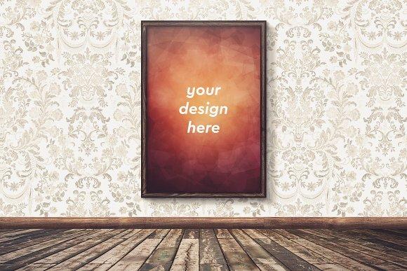 Poster In Frame Mock-up 19