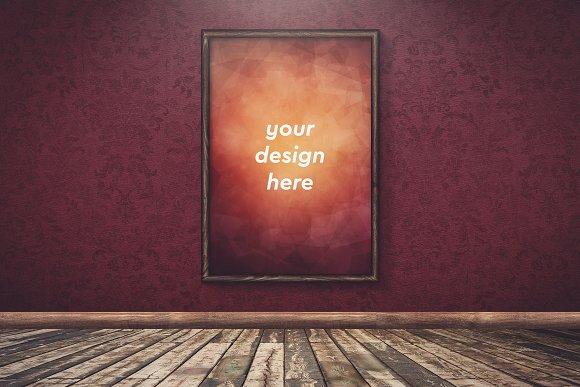 Poster In Frame Mock-up 22