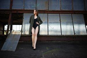 model girl wit long legs