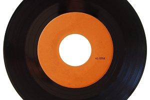 Vinyl recor