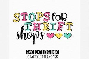 Stops For Thrift Shops