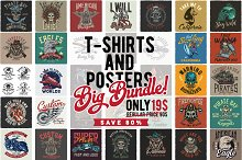 T-shirts and posters BUNDLE
