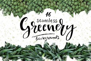 Greenery-16 seamless backgrounds