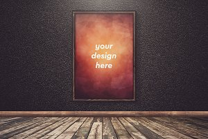 Poster in Frame Mock-up 28